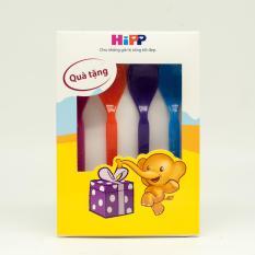 QUÀ TẶNG – Bộ 4 thìa ăn dặm HiPP nhiều màu, nhập khẩu từ Đức
