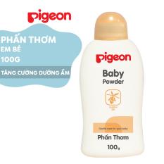 Phấn thơm em bé Pigeon Nắp màu 100g