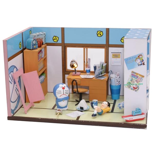 Đồ Chơi Thế Giới Tí Hon Mô Hình Phòng Nobita - Doraemon