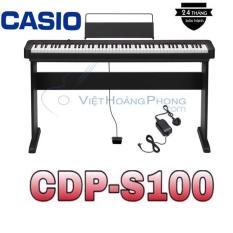 Đàn Piano Điện Casio CDP-S100 Kèm Giá nhạc + Chân đàn – Việt Hoàng Phong