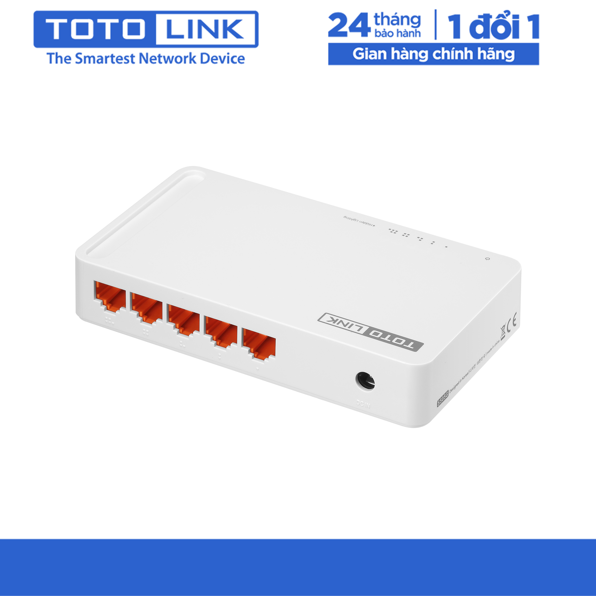 Switch 5 cổng 10/100Mbps – S505 – TOTOLINK