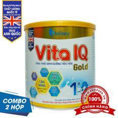 COMBO 2 hộp sữa Vita IQ Gold 1+ 700g (1-2 tuổi)
