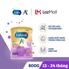 [Dễ tiêu hóa và hấp thụ] Sữa bột Enfamil A+ Gentle Care 3 800g dành cho trẻ 12-24 tháng – Cam kết HSD còn ít nhất 10 tháng