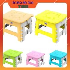 Ghế Nhựa Xếp Mèo Nhựa Duy Tân Cho Bé