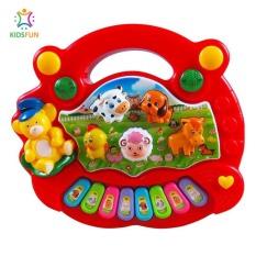 Đồ chơi trẻ em ĐÀN PIANO các hình động vật nuôi ngộ nghĩnh phát triển trí thông minh và kích thích thích giác cho bé từ 0 đến 3 tuổi