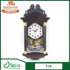 [khuyến mãi sốc] Mua 1 đồng hồ treo tường F19 – Tặng 1 đồng hồ F011 giá 149k
