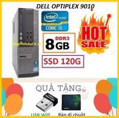 Thùng Dell optiplex 9010 Core i5 3470 / 8G / SSD 120G , Khuyến Mai USB wifi , Bàn di chuột – Bảo hành 02 Năm