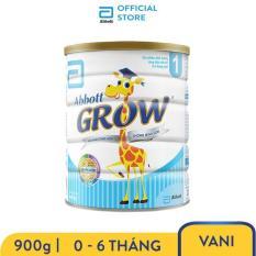 Sữa bột Abbott Grow 1 G- Power 900g cho bé 0 – 6 tháng dễ tiêu hóa và hấp thu hỗ trợ tăng trưởng chiều cao và cân nặng
