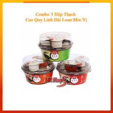 Combo 3 Hộp Cao Quy Linh Sunity 222gr (Đậu Xanh – Đậu Đỏ – Ngô )
