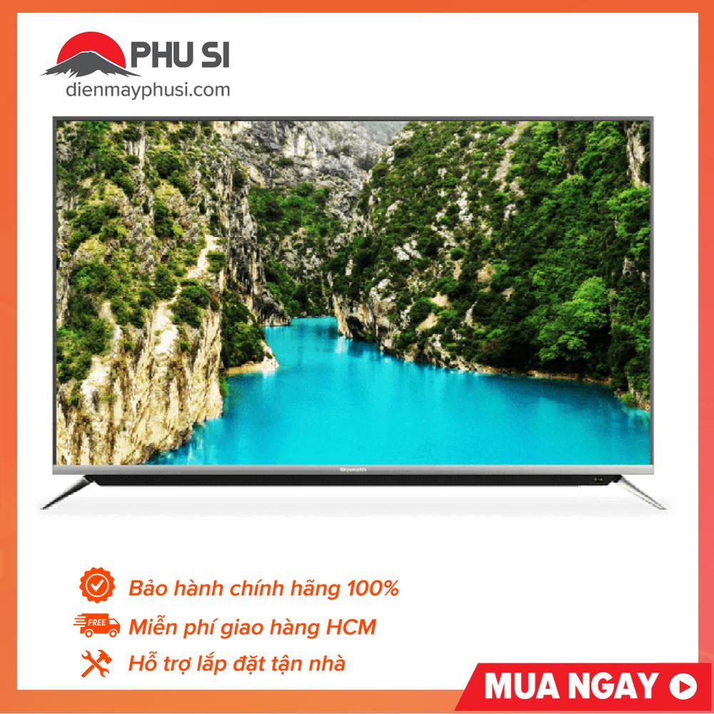 TRẢ GÓP 0% – BẢO HÀNH 2 NĂM – Smart Tivi Skyworth 49 inch 49G6, 4K HDR, Android