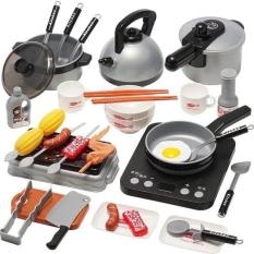 Đồ chơi nhà bếp nấu ăn vui nhộn cho bé yêu – 36 món nhựa ABS cao cấp HLT01