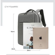 Balo đựng laptop kèm cổng sạc USB tiện lợi, balo thời trang đa năng dáng đứng gọn gàng hiện đại