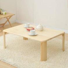 Bàn gỗ xếp gọn 60cm x 90cm màu tự nhiên