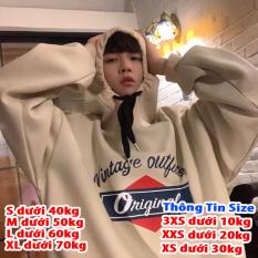 [FREESHIP TOÀN QUỐC] Áo hoodie nam nữ form rộng phong cách unisex mẫu in Original giá rẻ 4young