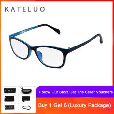 KATELUO Mắt kính máy tính chống tia laser chống mỏi mắt kính chống tia cực tím Gọng kính mắt oculos 13031