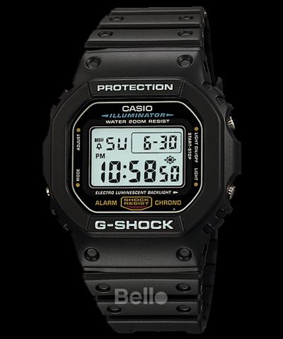 Đồng hồ Casio G-Shock Nam DW-5600E-1V chính hãng chống va đập, chống nước 200m – Bảo hành 5 năm – Pin trọn đời