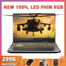 (NEW 100% FULL SEAL) Laptop Gaming Đồg Họa Khủng Asus TUF Gaming FX506LI, i5-10300H, RAM 8G, SSD 256G, VGA NVIDIA GTX 1650 Ti-4G, Màn 15.6 FullHD IPS, Viền Siêu Mỏng