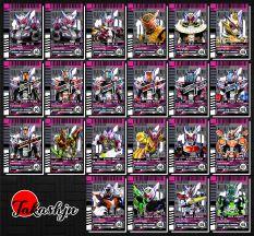 [ Độc quyền phản quang 7 màu ] Combo 10 Thẻ bài Kamen Rider Zi-O