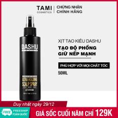 Keo xịt tạo kiểu tóc DASHU Daily Ultra Holding Scalp Spray 200ml xịt tóc giữ nếp lâu, không gây hư tổn tóc, dành cho cả nam và nữ keo xịt tóc TM-XT02