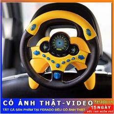 [Nhập ELMAR31 giảm 10% tối đa 200k đơn từ 99k]Tay lái đồ chơi – tay lái vô lăng ô tô cho trẻ em
