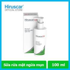 Sữa rửa mặt ngừa mụn Hiruscar Anti-Acen Pore Purifying Cleanser 100ml