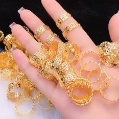 Nhẫn Nữ Vàng 18k Gadoshop VN28031910 Thời Trang Nữ – Đeo Đi Tiệc Đi Chơi Làm Công Sở Cực Sang Chảnh Và Quý Phái