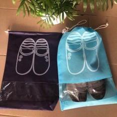 Combo 3 túi đựng giày chống bụi hoặc đi du lịch, đi đá bóng AS