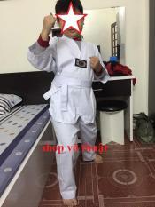 Võ phục quần áo Taekwondo vải kaki