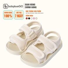 Dép Trẻ Em Sandal BabyloveGo QL-2277 Siêu Mềm Siêu Nhẹ Chống Trơn Trượt Cho Bé
