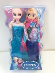 Best Home Bộ 2 đồ chơi búp bê công chúa Elsa và Anna Elsa Anna Công Chúa Búp Bê Nhồi Bông Mềm Đồ Chơi Sang Trọng Búp Bê Đồ Chơi cho bé gái