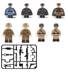 Đồ chơi lắp ráp Set 8 Minifigures Lính World War 2 WW5