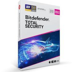 Phần Mềm Diệt Virus Bitdefender Total Security 2020 1 Năm/1User