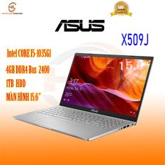 Laptop Asus Vivobook 15 X509JA-EJ020T Core i5-1035G1/ 4GB DDR4 2400MHz/ 1TB-54/ UMA/ 15.6″ FHD/ Win10/ BẠC