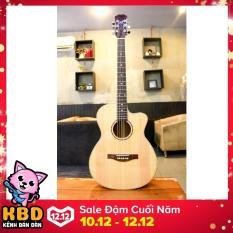 Đàn Guitar Acoustic VE-70 ( màu gỗ tự nhiên )