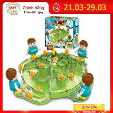 Bộ đồ chơi gia đình bóng lăn vui tươi tương tác giữa cha mẹ và con cái – KAVY