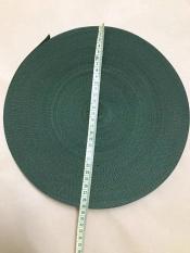 Dây dù dẹp bản 3cm – Cuộn 45 Mét – Màu xanh rêu