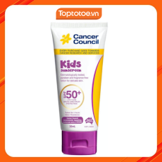 Kem Chống Nắng Cancer Council Kids Dành Cho Trẻ Em SPF50+ UVA-UVB 35ml