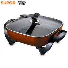 Nồi lẩu điện Fast Cooking Supor H30FK802VN-136 5L (Cam phối đen)