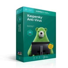 Phần Mềm Diệt Virus Kaspersky Antivirus (KAV) 3 User