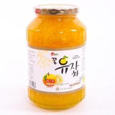 Mật ong chanh đào Hàn Quốc Nắp Vàng 1kg Date 12.2023 có Video Sp
