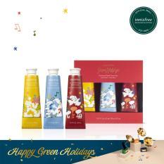 [Phiên bản Green Holidays 2019] Bộ 3 kem dưỡng da tay innisfree Perfumed Hand Cream Set