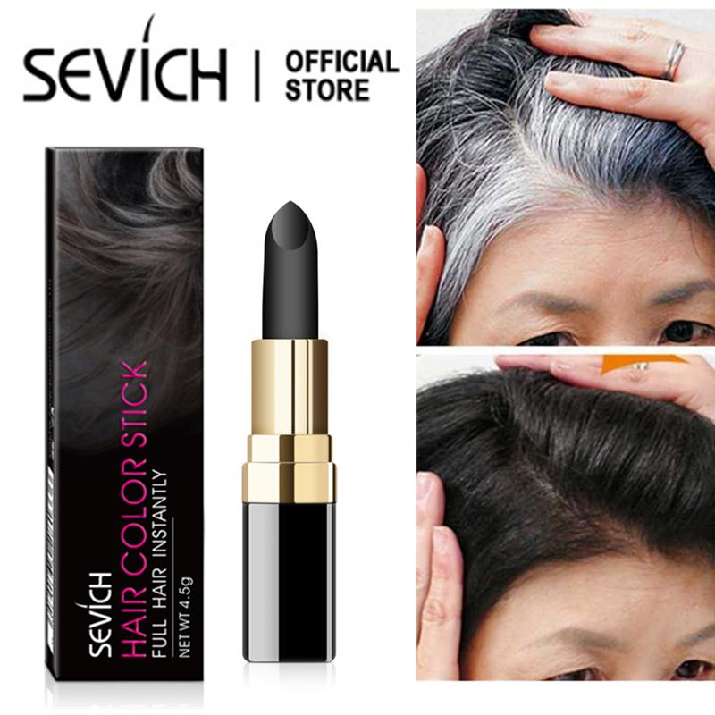 Bút nhuộm tóc SEVICH Che phủ tóc bạc nhanh chóng An toàn cho da đầu