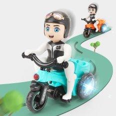 Đồ chơi trẻ em bé đi xe đạp xoay 360 độ có đèn và nhạc an toàn cho bé – Bé đi xe đạp Bicycle bánh xe phát sáng 3 màu theo nhạc – Đồ chơi cho bé trai 3 tuổi – Thế giới đồ chơi cho bé gái cute – Quà tặng sinh nhật cho bé
