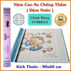 Đệm Nước Cho Bé Cuddles (90x60cm) Chống Thấm Siêu Tốt – Chiếu Cao Su cho Bé