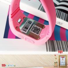 [Quà Cho Bé] Đồng hồ định vị an toàn trẻ em GPS Smartwatch (Hồng)
