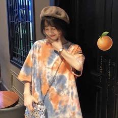[Thanh Bắc Fashion] Áo thun nam nữ Form rộng Unisex Loang màu cực hot 2020