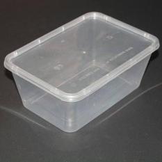 Lốc 10 hộp nhựa chữ nhật microwave