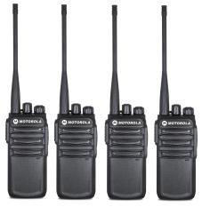Bộ 4 Bộ đàm Motorola CP838 (Siêu bền, Loa chống từ tính, Pin dung lượng lớn, cự ly liên lạc xa)