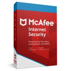 Phần mềm McAfee Internet Security 2020 10 thiết bị / 1 năm