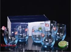 Bộ 06 cốc thủy tinh màu ES1132B